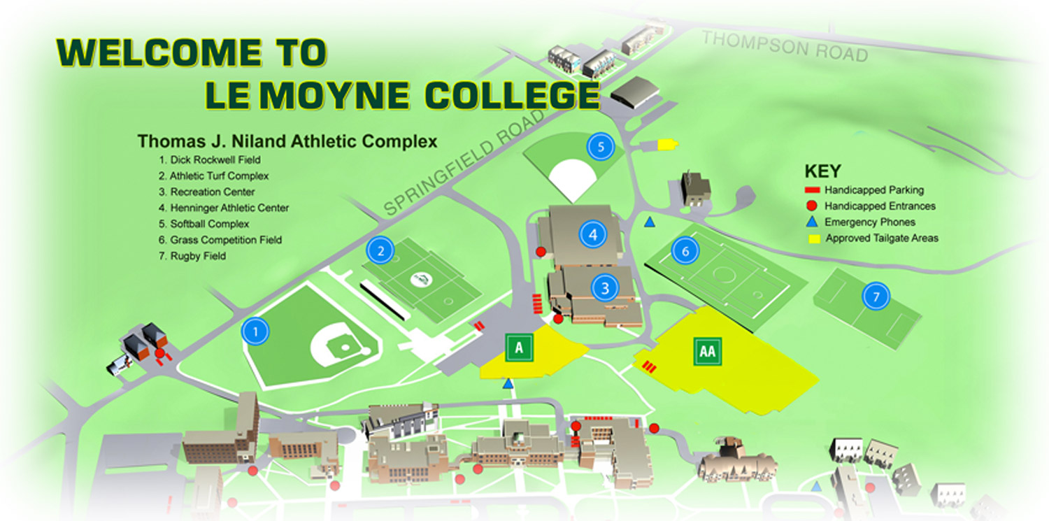 Le Moyne Athletics Fan Guide Le Moyne College Athletics